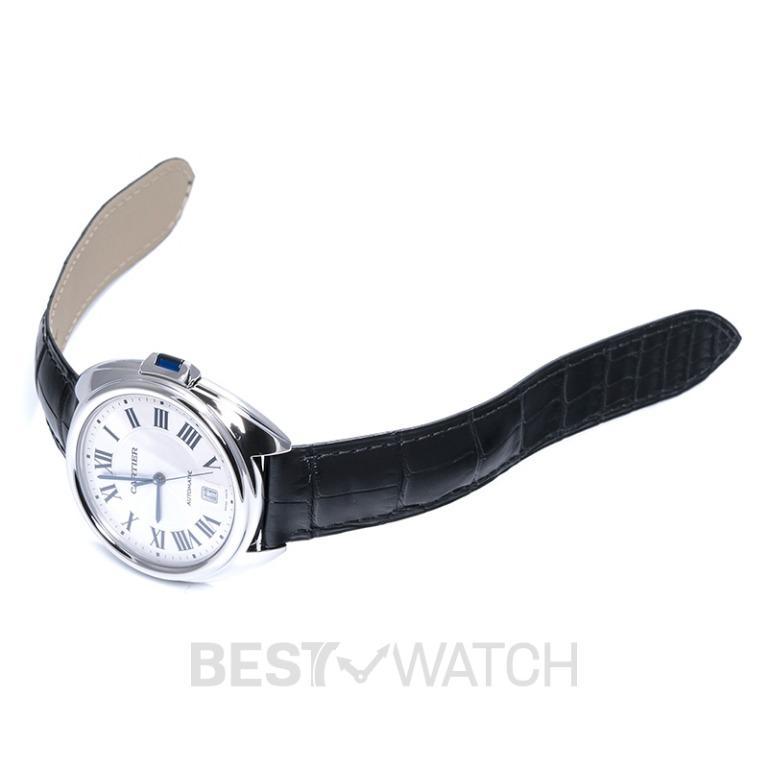 [NEW] Cartier Clé de Cartier 40 mm Automatic Silver Dial Stainless Steel Men's Watch WSCL0018