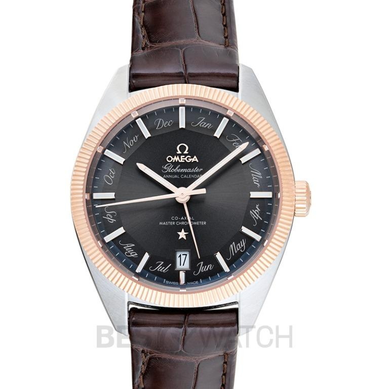 [NEW] Omega Constellation Globemaster Co‑Axial Master Chronometer Annual Calendar 41mm Automatic Grey Dial Gold Men's Watch 130.23.41.22.06.001
