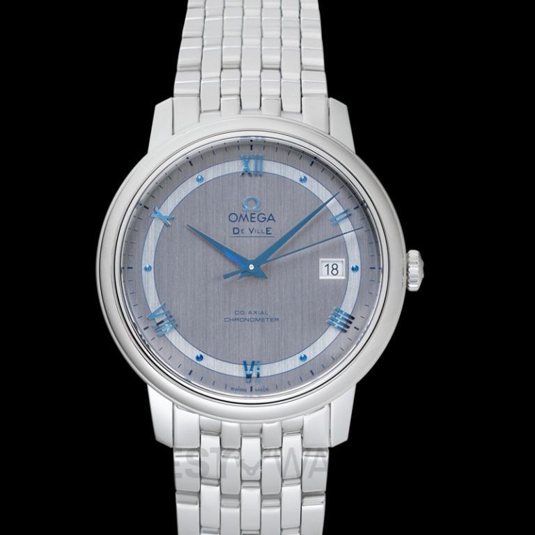 [NEW] Omega De Ville Prestige Co‑Axial 39.5mm Automatic Silver Dial Steel Men's Watch 424.10.40.20.02.001