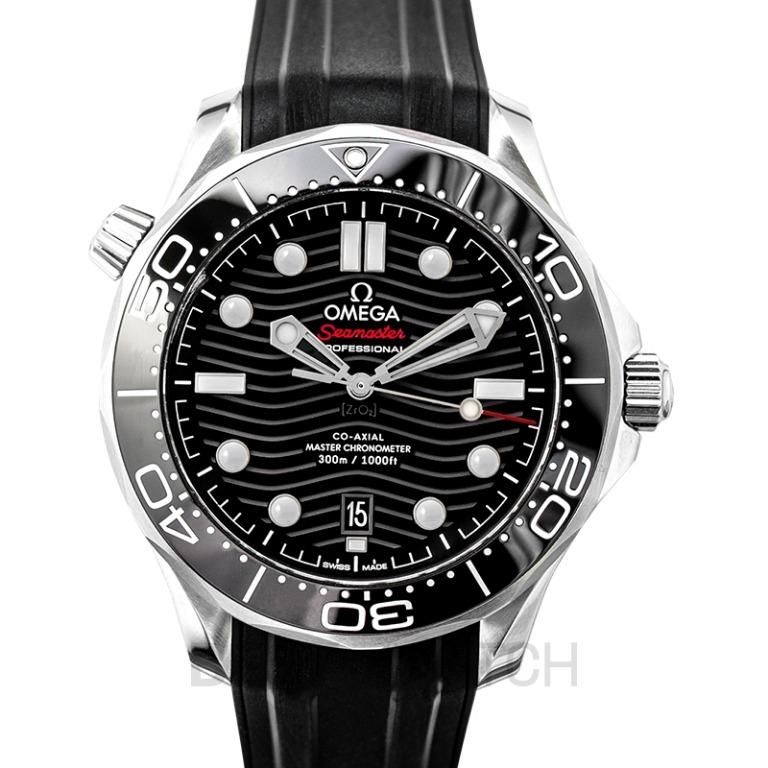 [NEW] Omega Seamaster Diver 300 M Co‑Axial Master Chronometer 42mm Automatic Black Dial Stainless Steel Men's Watch 210.32.42.20.01.001