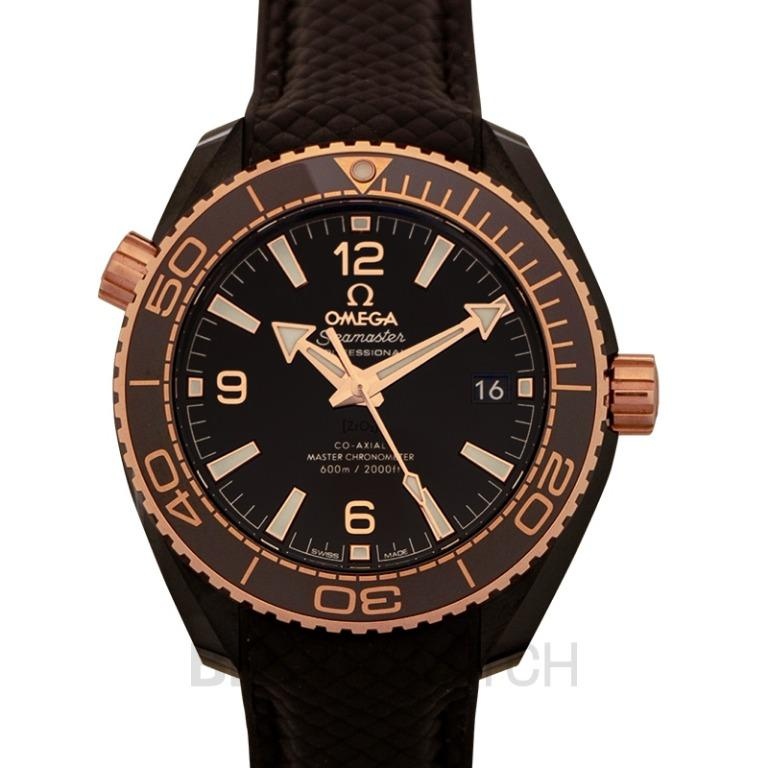 [NEW] Omega Seamaster Planet Ocean 600M Co‑Axial Master Chronometer 39.5mm Automatic Brown Dial Brown Ceramic Men's Watch 215.62.40.20.13.001