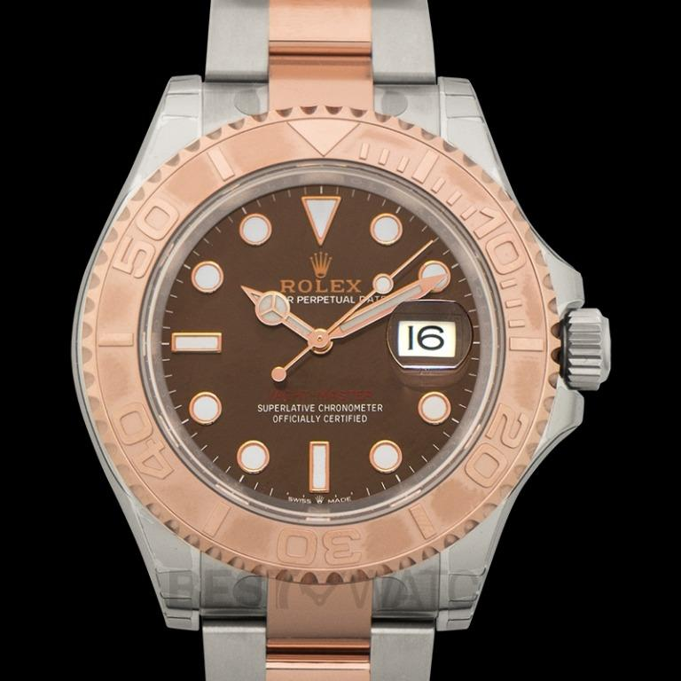 [NEW] Rolex Yacht-Master 40 Automatic Chocolate Brown Dial Oystersteel and 18 ct Everose Gold Men's Watch 126621