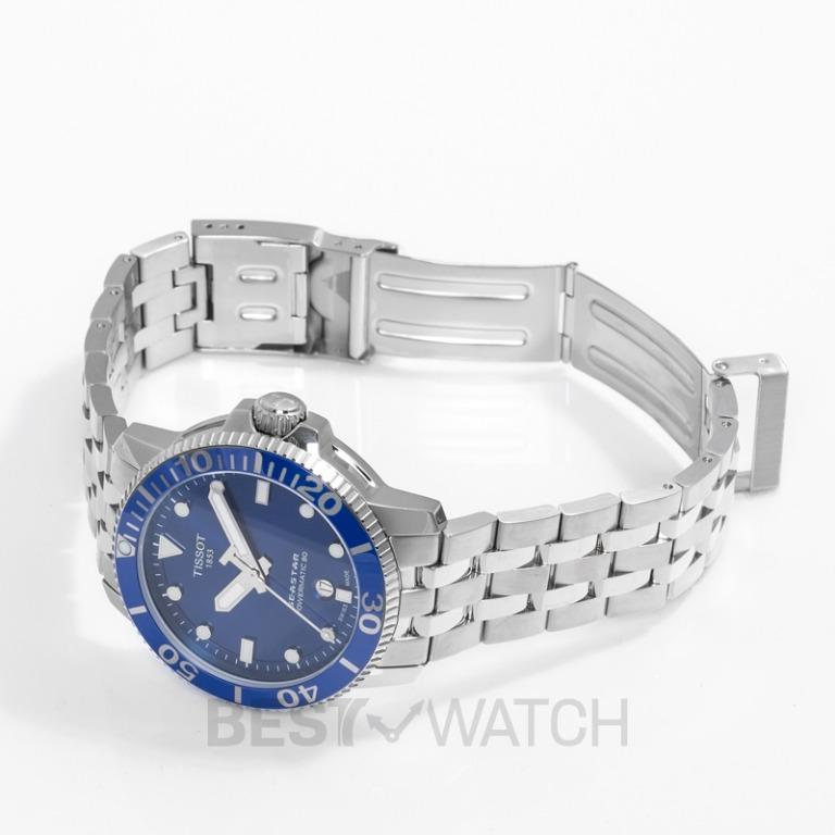 [NEW] Tissot T-Sport Seastar 1000 Powermatic 80 Automatic Blue Dial Men's Watch T120.407.11.041.00