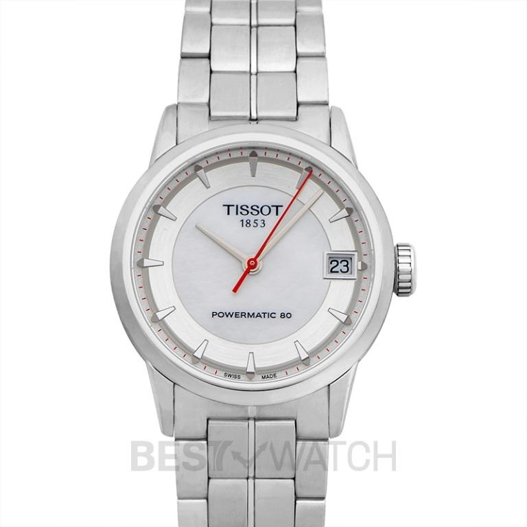 [NEW] Tissot Tissot Automatic Asian Games 2014 Limited Edition MOP Ivory/Steel 33mm T086.207.11.111.01