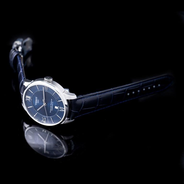 [NEW] Tissot T-Classic Chemin Des Tourelles Powermatic 80 Automatic Blue Dial Men's Watch T099.407.16.048.00