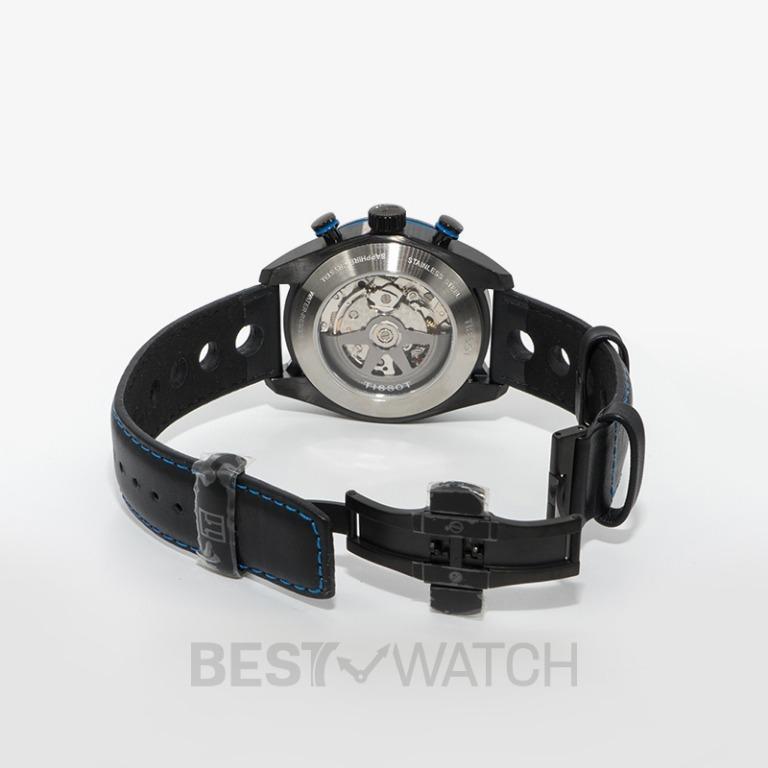 [NEW] Tissot T-Sport PRS 516 Automatic Chronograph Black Dial Men's Watch T100.427.36.201.00