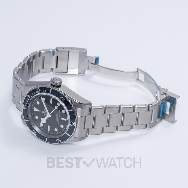 [NEW] Tudor Heritage Black Bay Steel Automatic Black Dial Chronometer Men's Watch 79230B-0008
