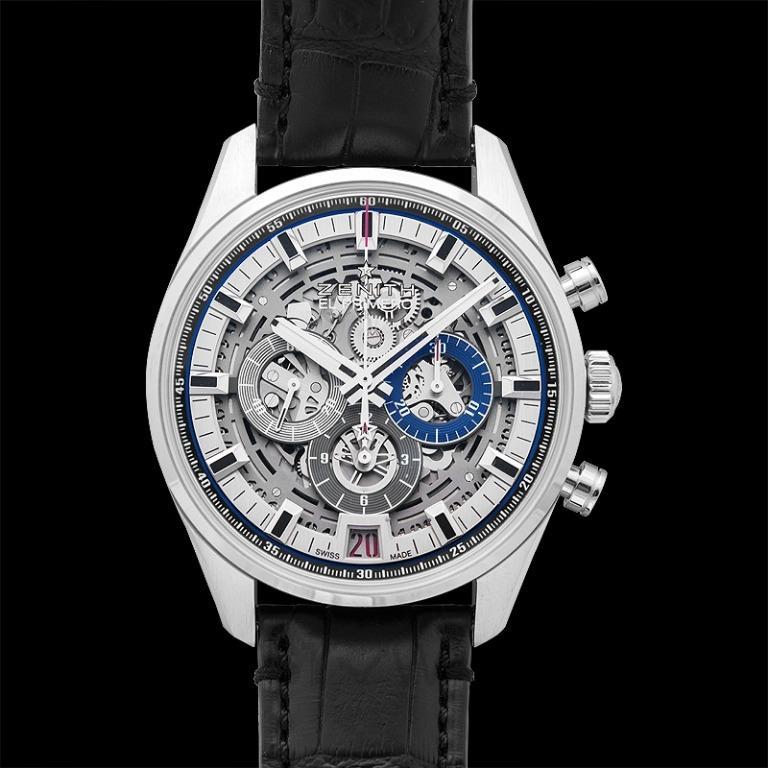 [NEW] Zenith Zenith El Primero Chronograph Automatic Men's Watch 03.2081.400/78.C813 03.2081.400/78.C813