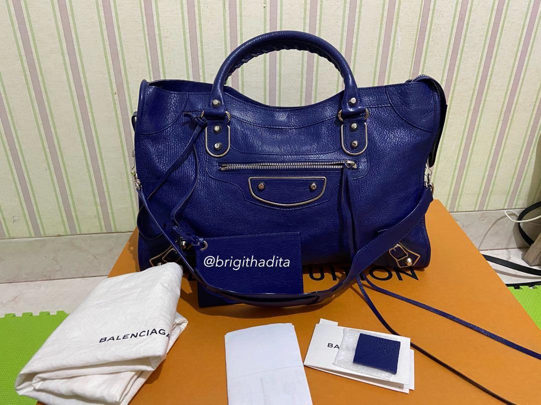 Preloved balenciaga city edge 2015 / balenciaga city edge second / balenciaga second / authentic bag