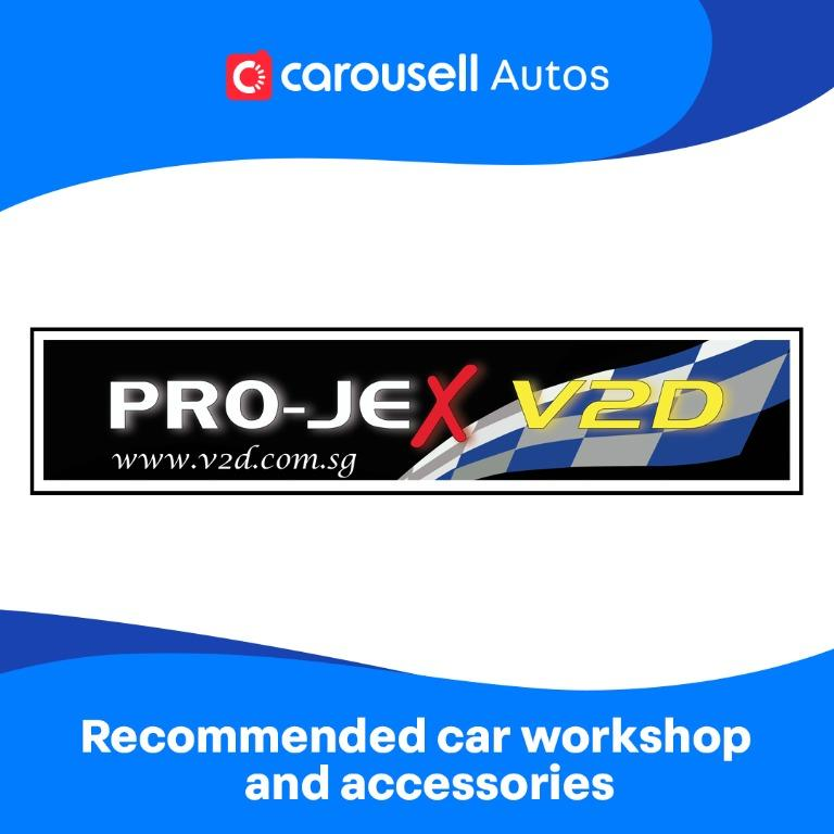 Pro-Jex V2D - Recommended car workshop and accessories