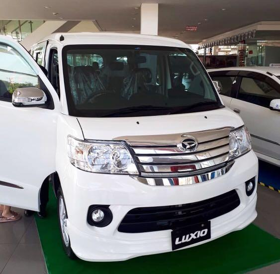 PROMO LEBARAN Daihatsu Luxio DP mulai 15 jutaan. Daihatsu Pamulang