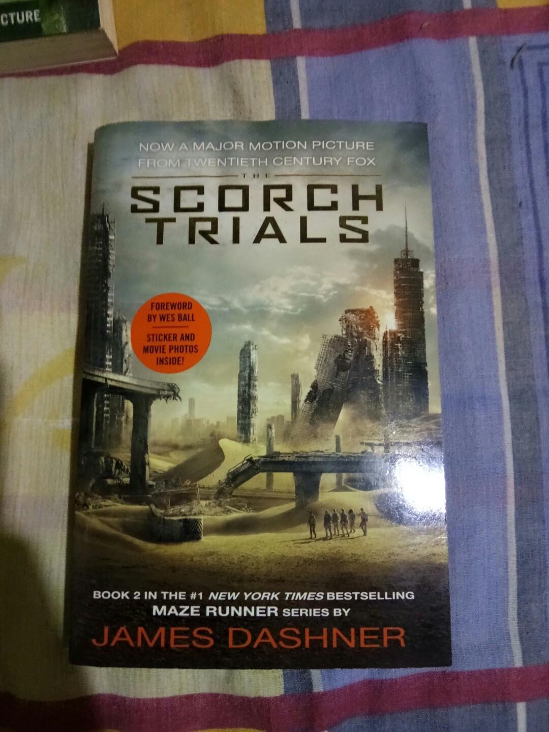 The Maze Runner, The Scorch Trials and The Death Cure by James Dashner Bundle
