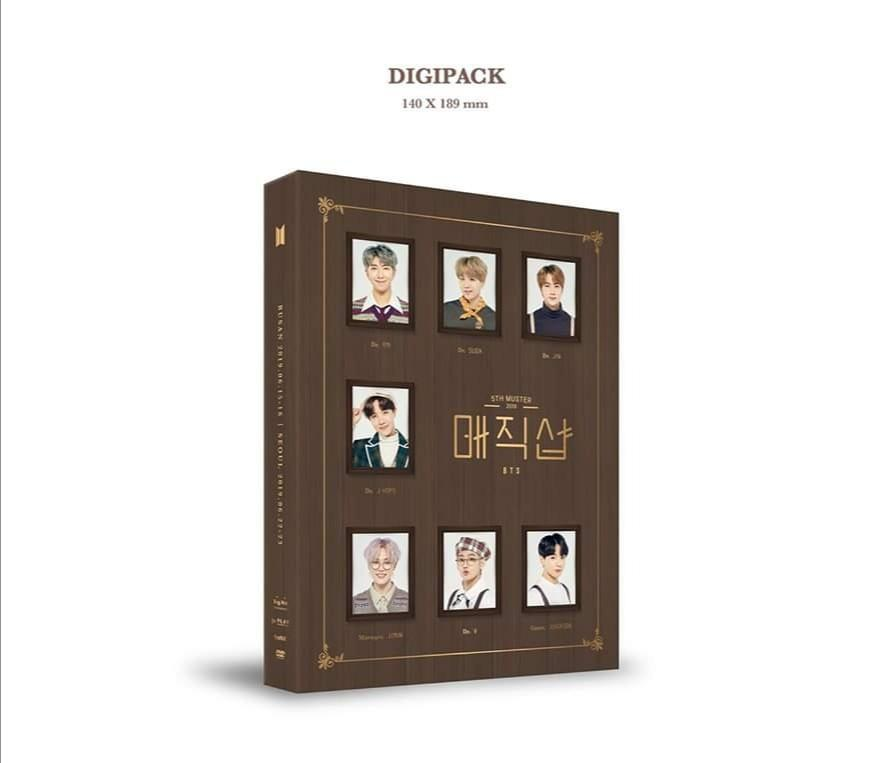 [WTS/LFB] BTS 5th Muster Magic Shop DVD Unseal & No PC