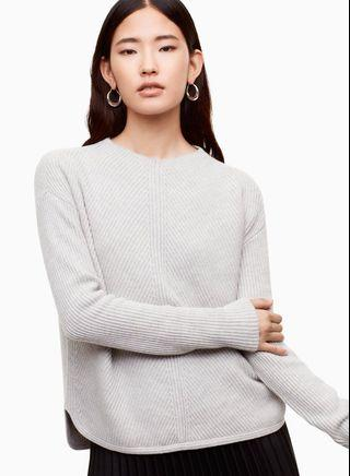 Babaton Chalmers Wool Sweater in Tuscan Olive
