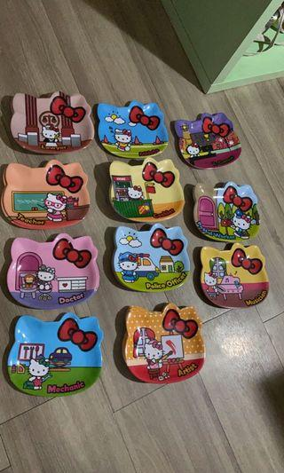 7 Eleven 11 design Hello Kitty career plates