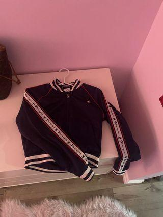 Champion cropped hoodie sz small