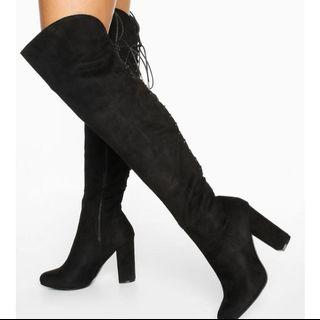 Boohoo Thigh High Boots!
