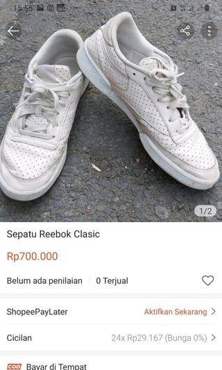 Sepatu reebok clasic