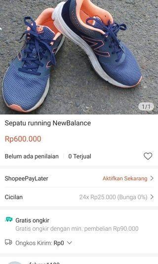 Sepatu running NewBalance