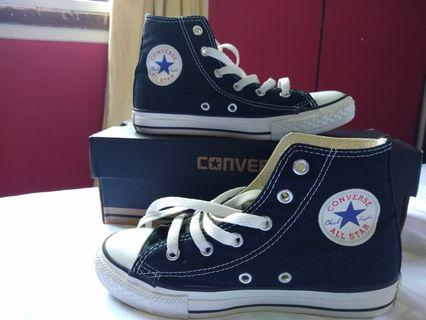 Converse High Cut Shoes (Youth)