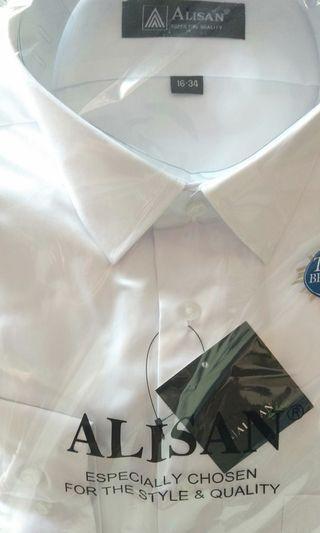 Kemeja Putih Polos ALISAN
