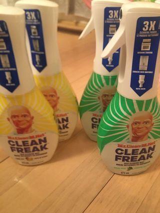 Mr Clean Freak x 4
