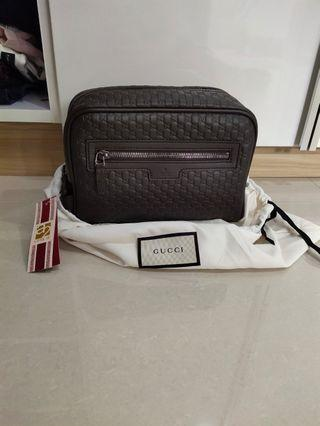 Gucci pouch man NEW AUTHENTIC