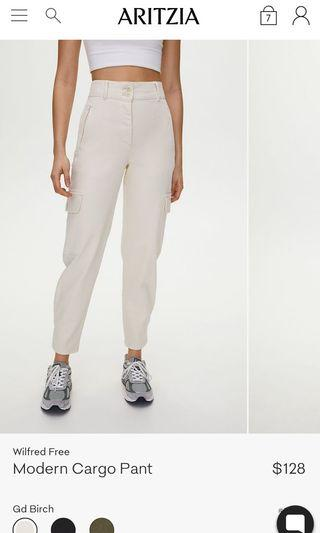 Wilfred Free Modern Cargo Pants