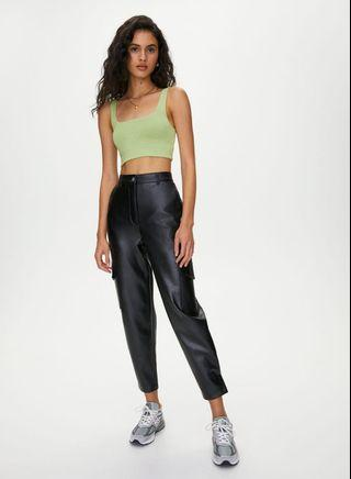 Wilfred Leather Modern Cargo Pants