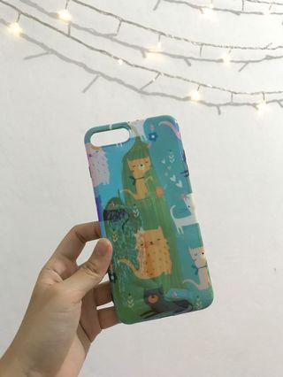 NEW!! Tosca Cat Pattern Iphone 7+ / 8+ Case