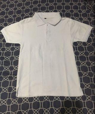 polo shirts putih