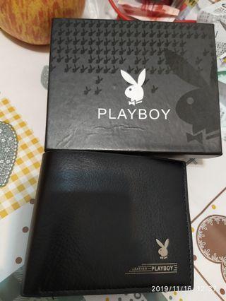 Playboy錢包 黑色