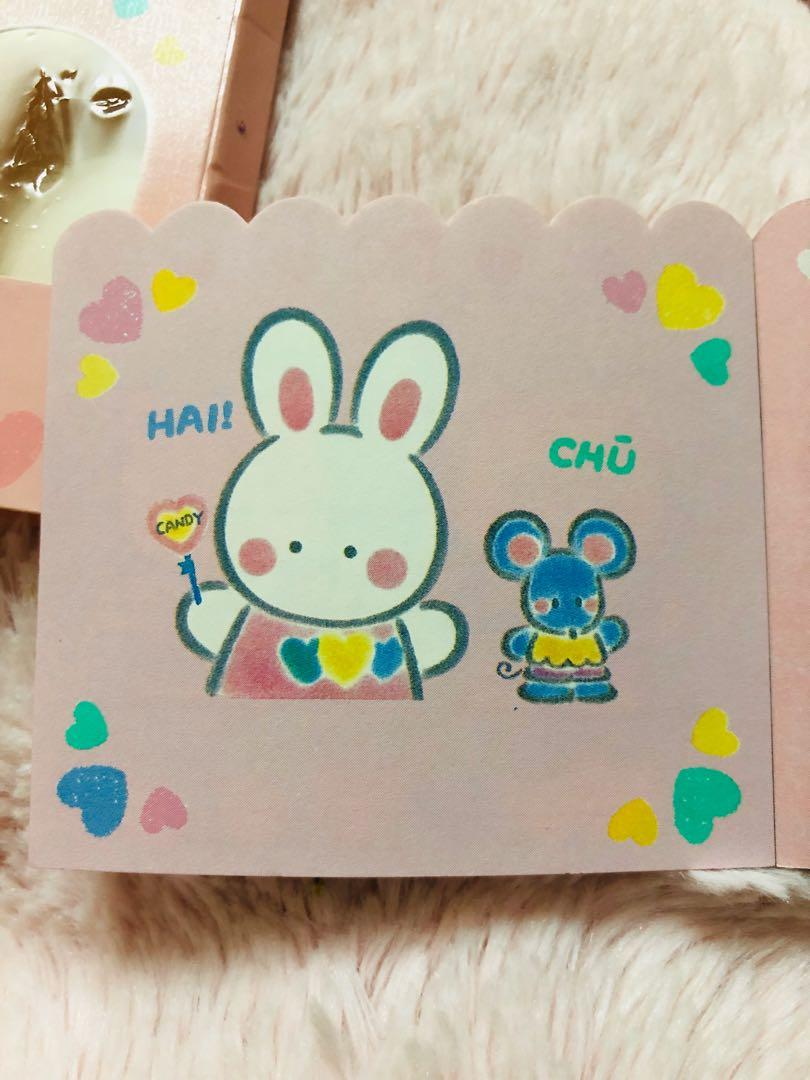 94'cheery chums四色memo紙(made in Japan)