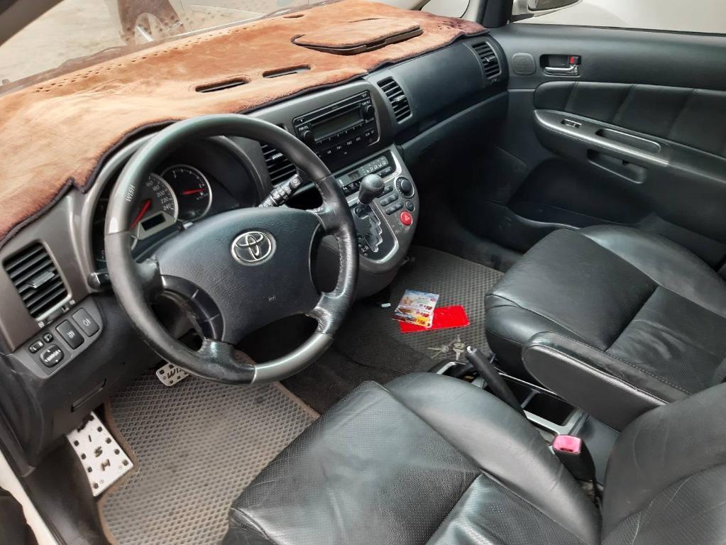 國產神車 唯一七人座 風評也是第一名 2005 WISH 2.0 E版 VVT引擎標榜著Toyota廠牌的耐用耐操