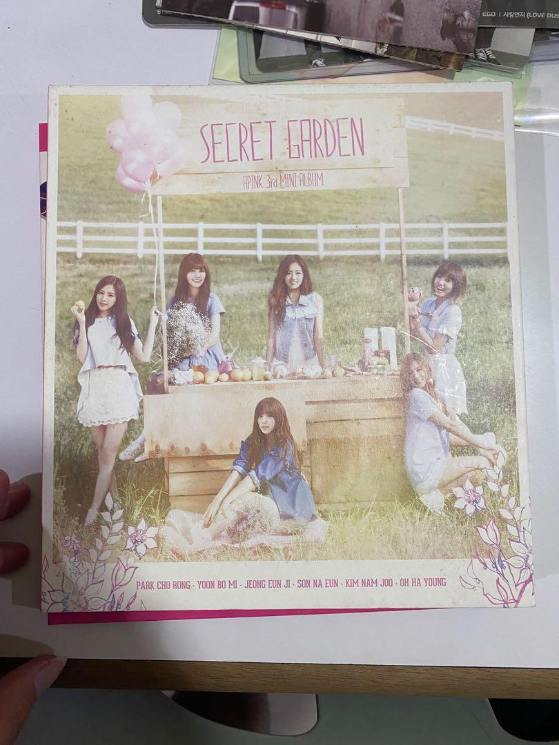 Apink Secret Garden Album with Authentic Autograph