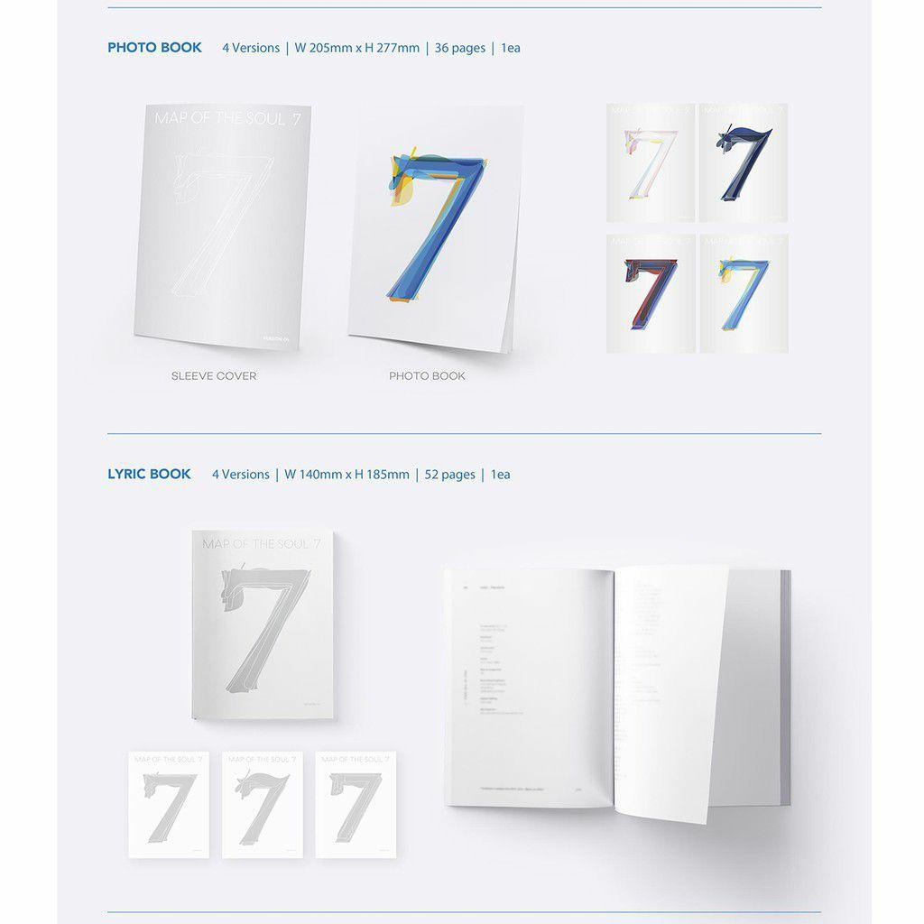 BTS - MAP OF SEOUL 7 (All Package+ Preorder Poster+Freebies)