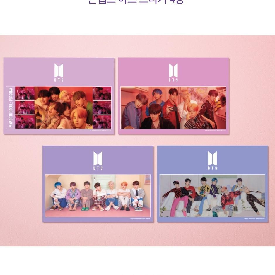 BTS JIGSAW OFFICIAL PUZZLE- MAP OF PERSONA FULL SET