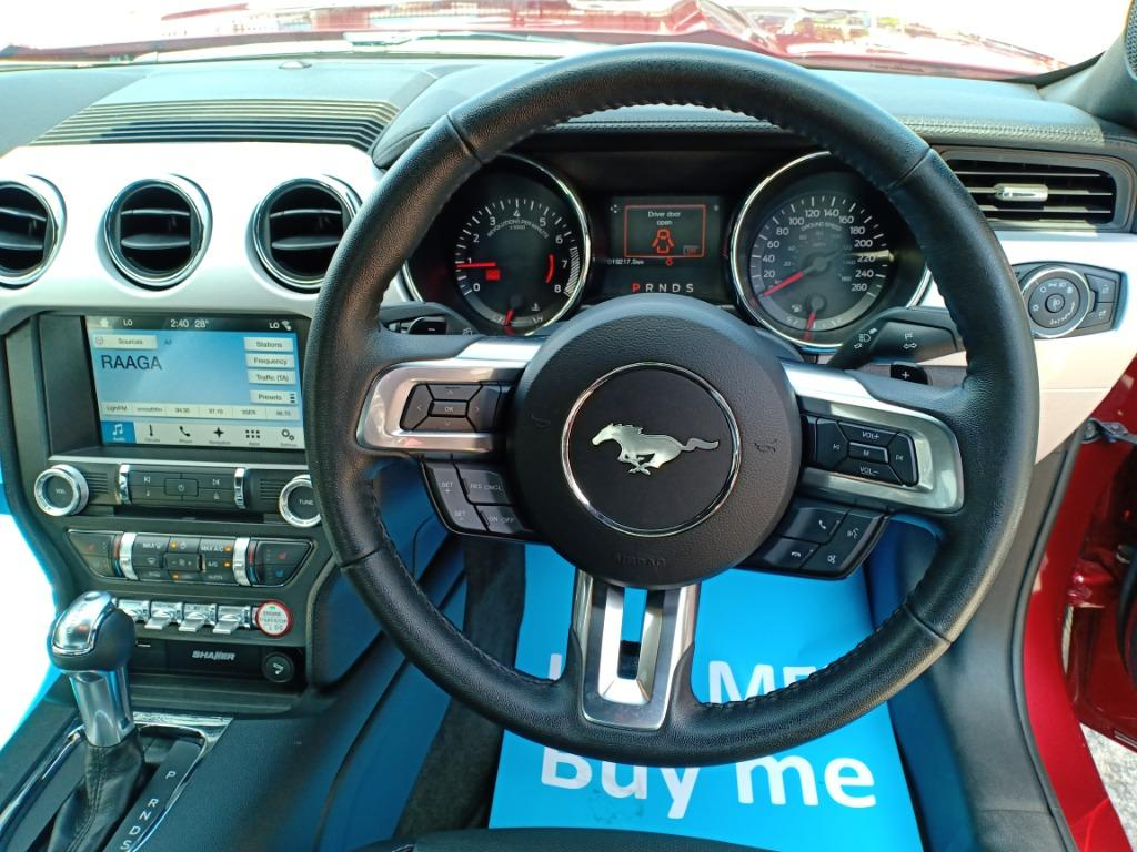 FORD MUSTANG 2.3 ECOBOOST SHAKER RUBY RED (A) OFFER UNREG 201
