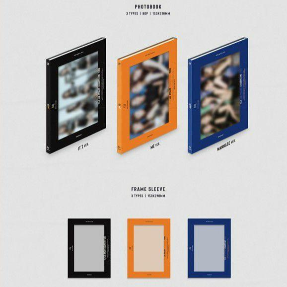 ITZY - IT'Z ME Album (All package + preorder poster)