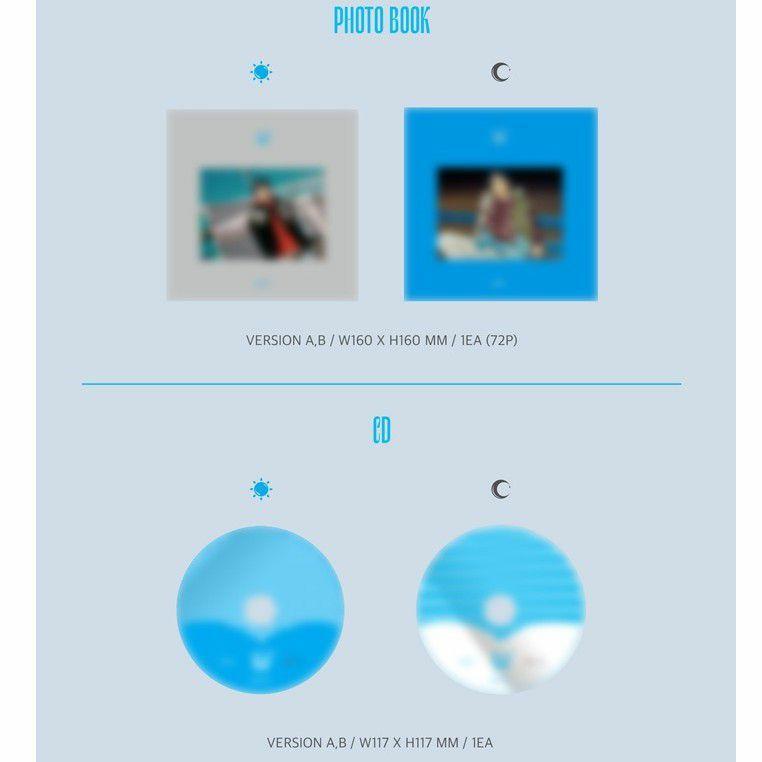 KANG DANIEL - CYAN ( All package + preorder poster )