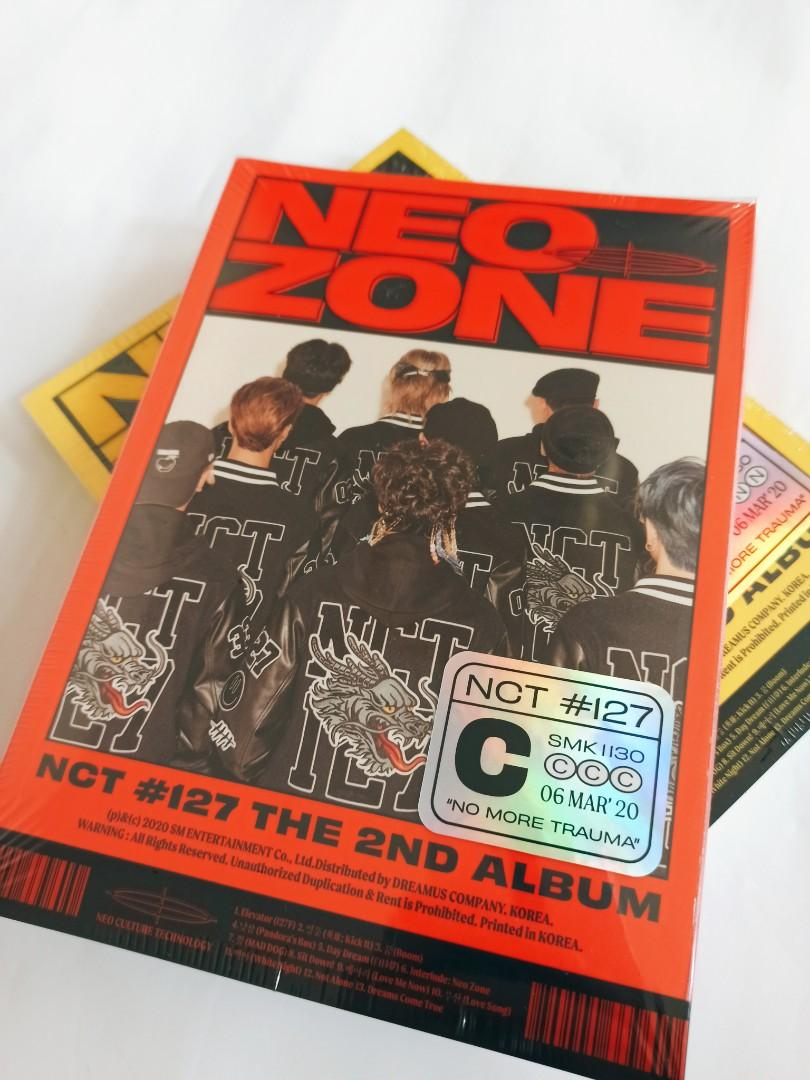 NCT 127(엔시티 127) - 2집 NCT #127 NEO ZONE (READYSTOCK-SEALED)