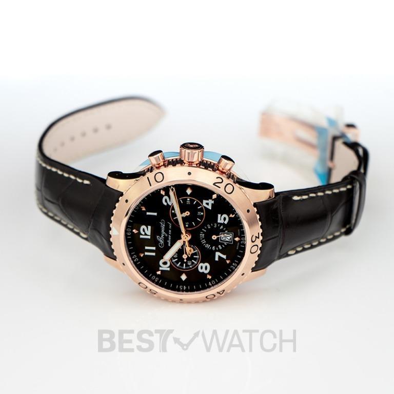 [NEW] Breguet BREGUET Transatlantique Type XXI Flyback Chronograph Rose Gold Men's Watch/42mm 3810BR/92/9ZU