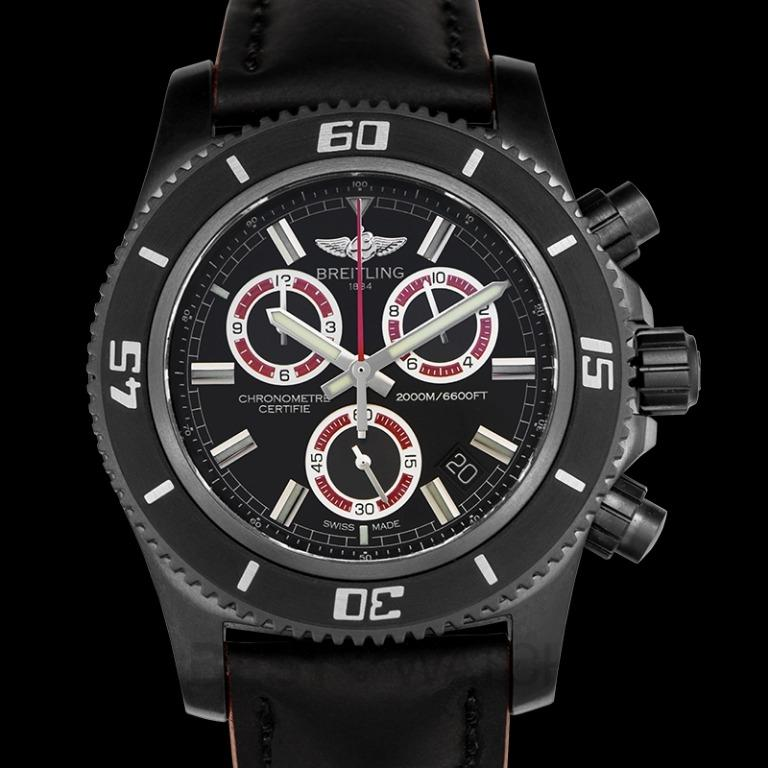 [NEW] Breitling Superocean Chronograph Black Dial Men's Limited Edition Watch 46mm M73310B7/BB72