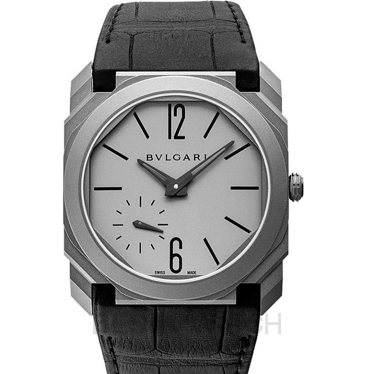 [NEW] Bvlgari Bvlgari Octo Finissimo Extra Thin Automatic Grey Dial Men's Watch 102711 102711