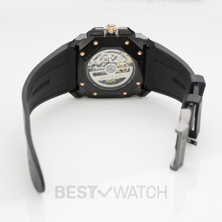 [NEW] Bvlgari Bvlgari Octo Stainless Steel & 18K Rose Gold Men`s Watch  41mm BGO41BBSPGVDCH 102488