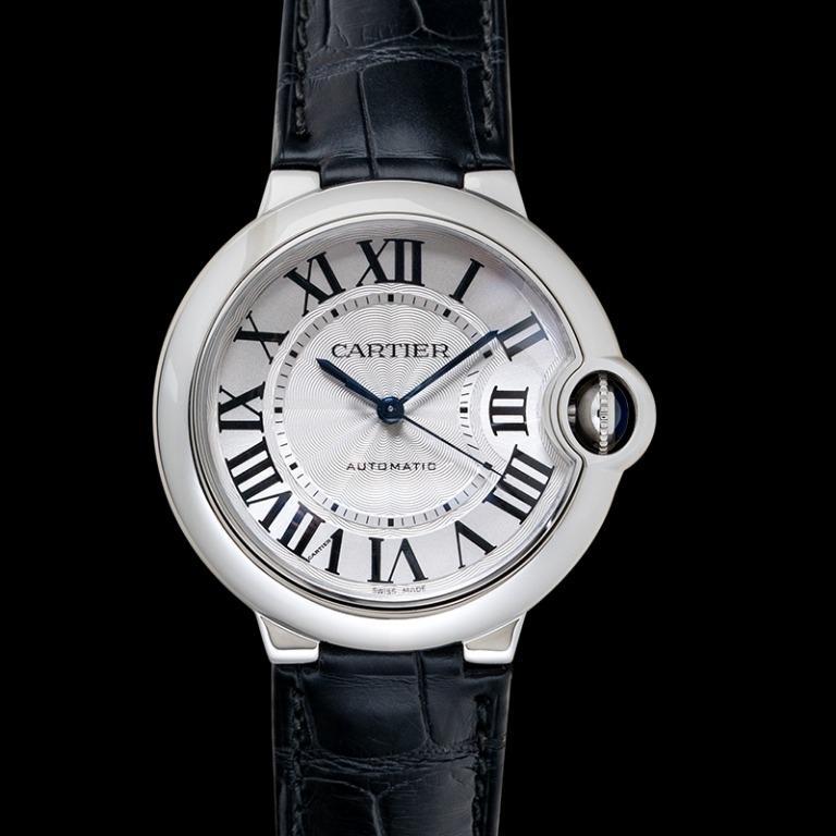 [NEW] Cartier Ballon Bleu de Cartier 36.6 mm Automatic Silver Dial Stainless Steel Ladies Watch W69017Z4