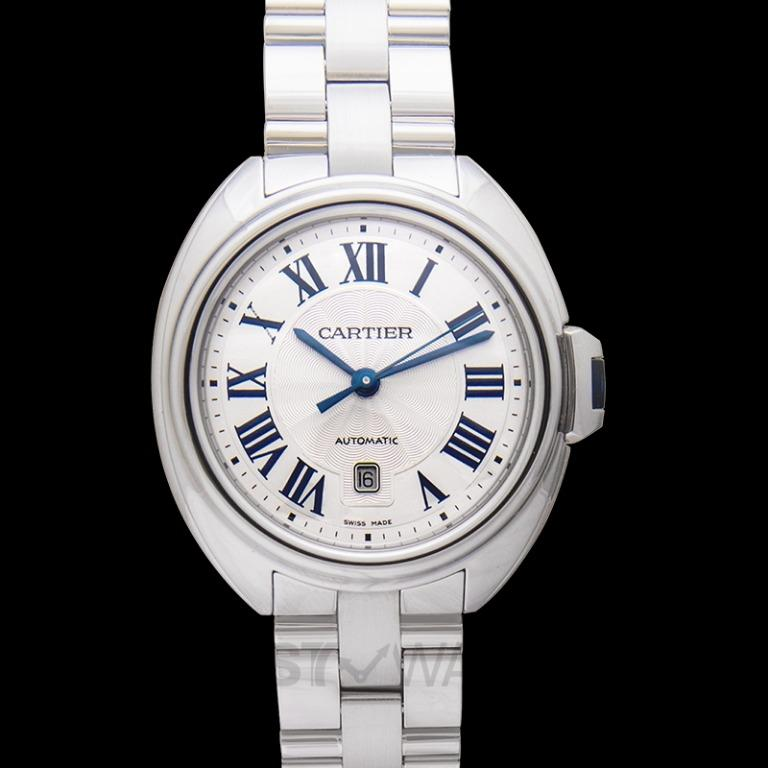 [NEW] Cartier Clé de Cartier 31 mm Automatic Silver Dial Stainless Steel Ladies Watch WSCL0005