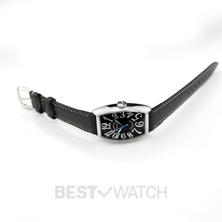 [NEW] Franck Muller Franck Muller Casablanca Stainless Steel Black Automatic 31.5mm 5850 CASA AC NR BLC