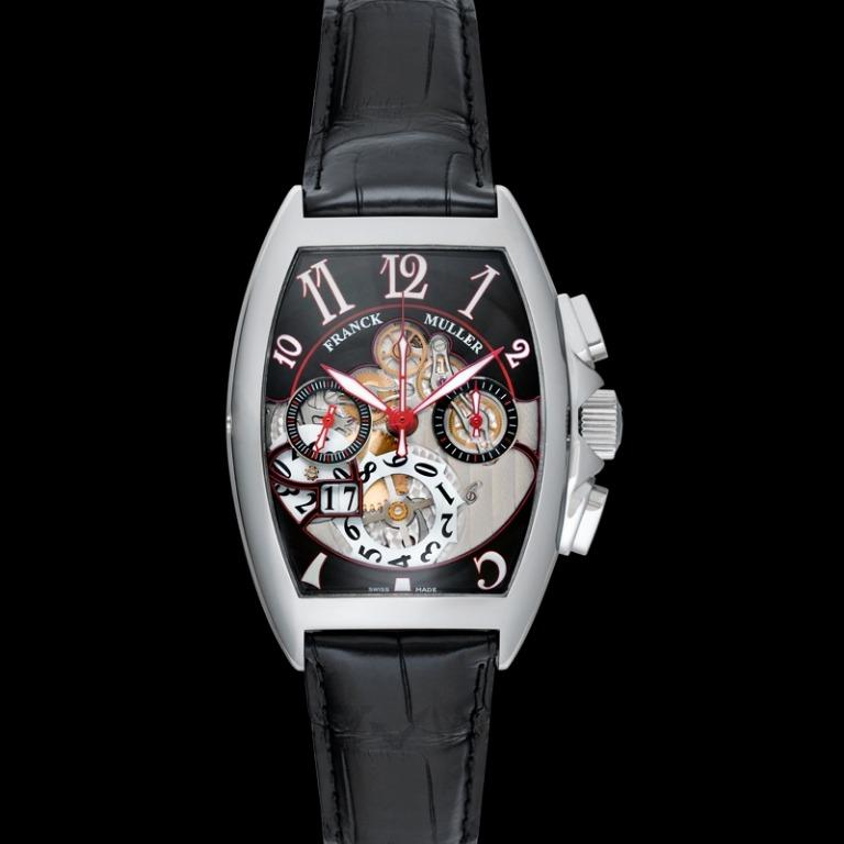 [NEW] Franck Muller Franck Muller Cintree Curvex Grand Date Watch Automatic 39.5mm 8083 CC GD FO AC