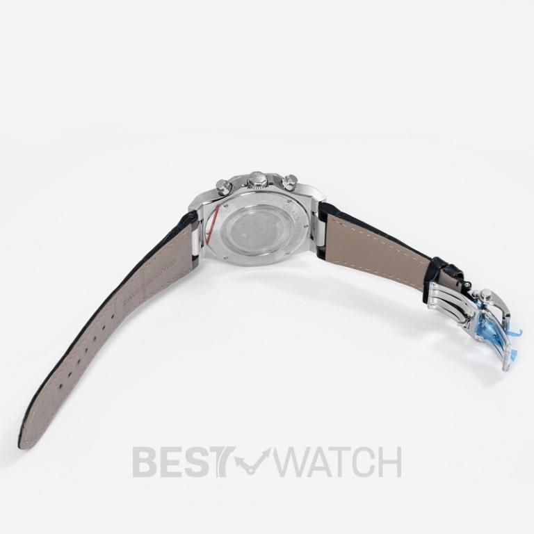 [NEW] Girard-Perregaux Girard-Perregaux Laureato 42 Chronograph Stainless Steel  Blue Alligator Watch 81020-11-431-BB4A